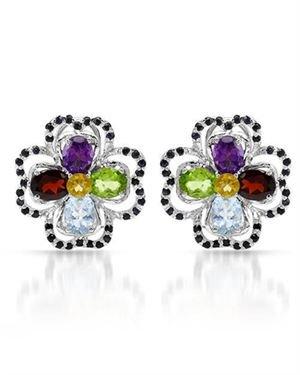 Ladies Earrings Designed In 925 Sterling Silver $69