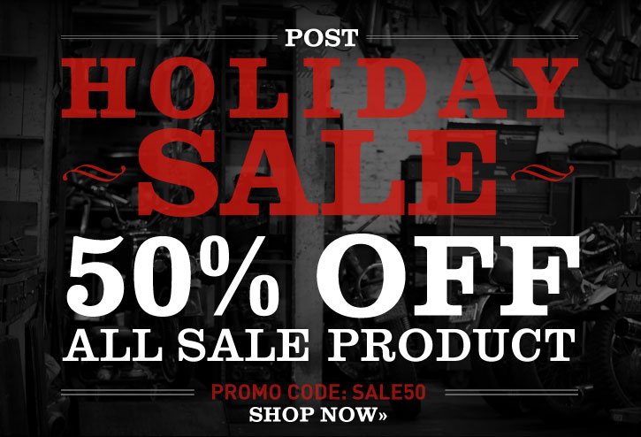 Post Holiday Sale