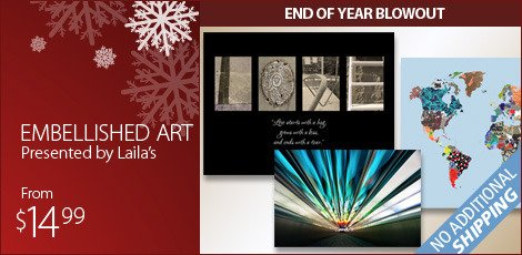 Embellished Art, presented by Laila's