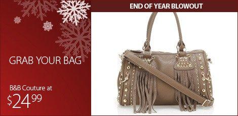 Grab your bag