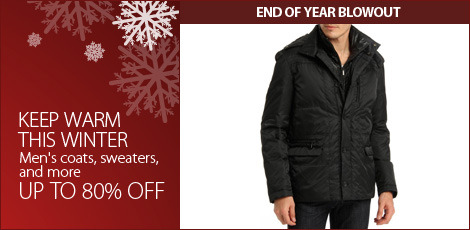 Keep Warm this winter (Men's Coats, Sweaters, & More)