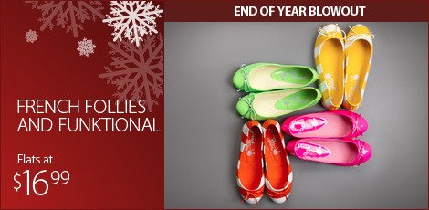 French Follies & Funktional Flats