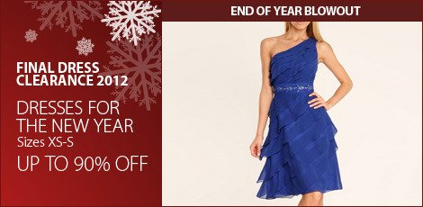 Dresses for the New Year (XS-S)
