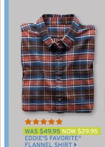 Eddie's Favorite® Flannel Shirt