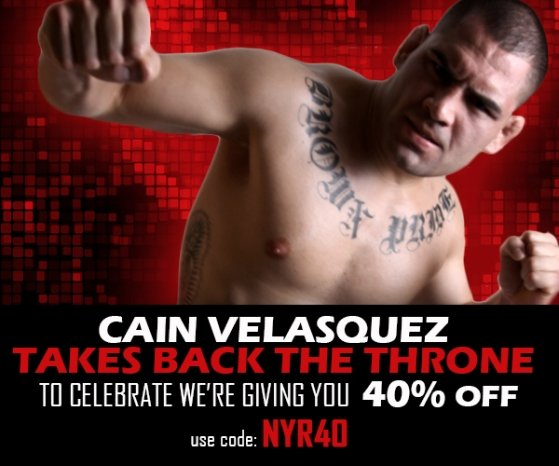 CAIN WINS - GET 40% OFF NOW!