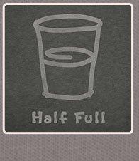 Mens Crusher L/S Half Full