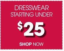 Dresswear Clearance