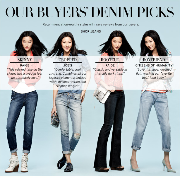 TOP-RATED DENIM - Recommendation-worthy styles with rave reviews from our buyers.