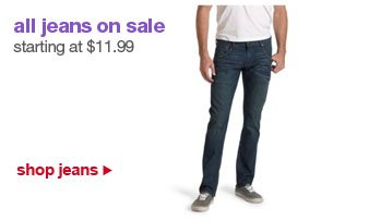all jeans on sale starting at $11.99 | shop jeans