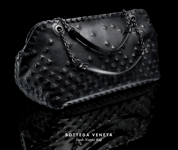 A classic gets an edge: Shop Bottega Veneta's new Studs bag.