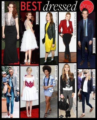 Best Dressed: 2012