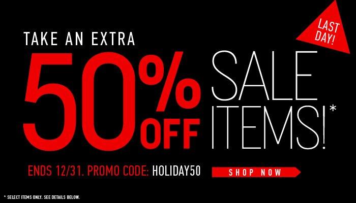 Last Day - 50% Off Sale - Shop Now