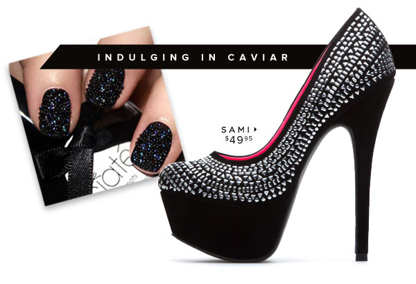 Happy New Year's Eve! Grab Some New Sparkling Heels to Celebrate! Shop Now