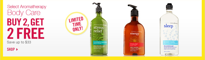 Aromatherapy - Buy 2, Get 2 Free!