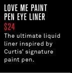 Love Me Paint Pen Eye Liner