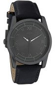<b>Flud Watches</b><br />The Moment Watch With Interchangeable Bands in Gun Metal