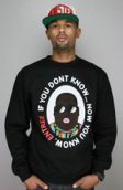 <b>Entree</b><br />Entree LS If You Dont Know Black Crewneck