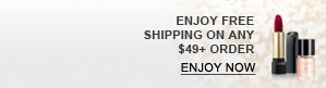 ENJOY FREE SHIPPING ON ANY $49+ ORDER | ENJOY NOW