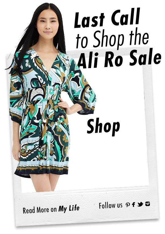 Ali Ro Holiday Sale