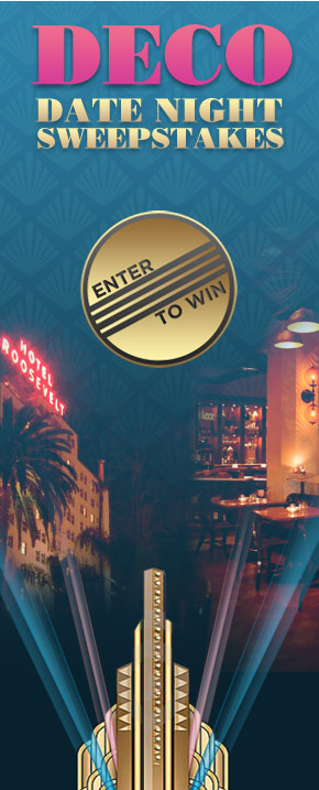 Deco Date Night Sweepstakes. Enter to Win