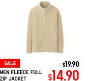 MEN FLEECE FULL ZIP JACKET