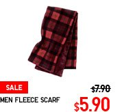 MEN FLEECE SCARF