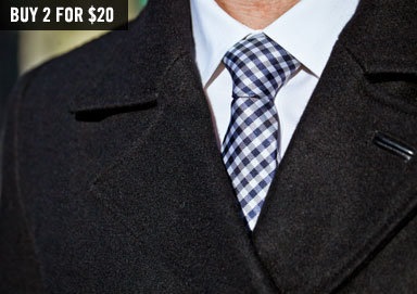 Shop From Business to Bars: Skinny Ties
