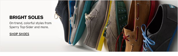 BRIGHT SOLES - On-trend, colorful styles from Sperry Top-Sider and more. SHOP SHOES