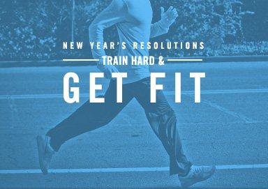 Shop Resolution: Train Hard & Get Fit