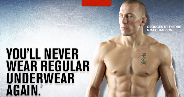 YOU'LL NEVER WEAR REGULAR UNDERWEAR AGAIN.®