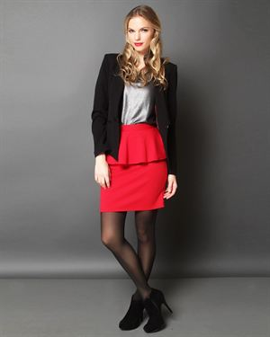 Everly Peplum Skirt $25