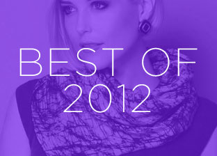 Best of 2012: Designer Scarves