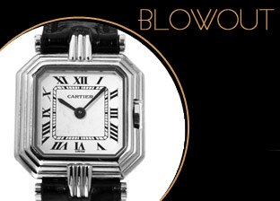 Luxury Jewelry & Watches Blowout