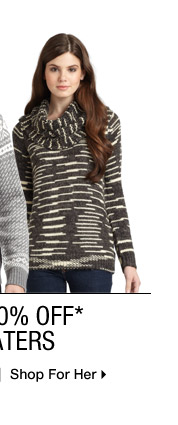 Up to 80% Off* Sweaters