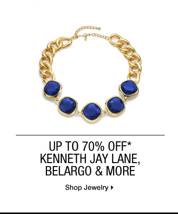 Up to 70% Off* Kenneth Jay Lane, Belargo & More