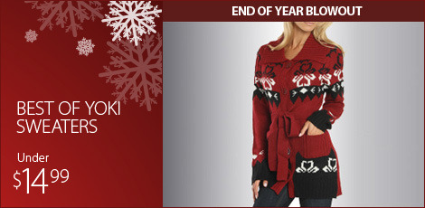 Best of Yoki Sweaters