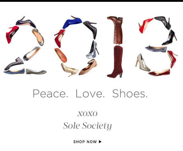 Peace. Love. Shoes.
