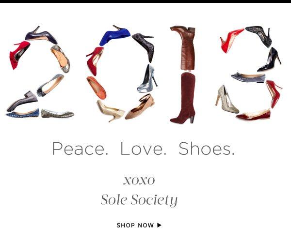 Peace. Love. Shoes.