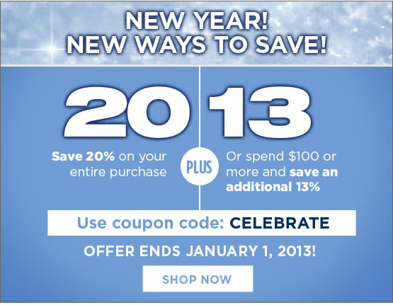 New year! New ways to save.