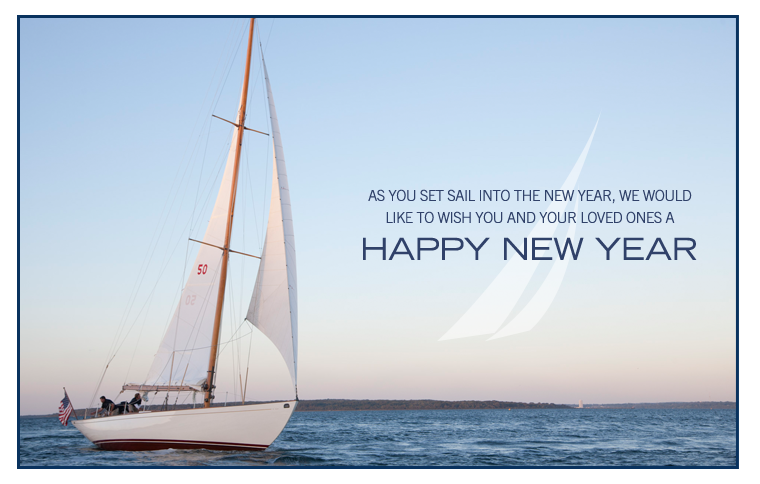 Happy New Year from NAUTICA.