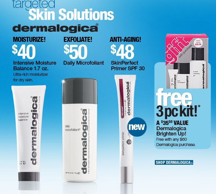 Dermalogica Gift with Pruchase