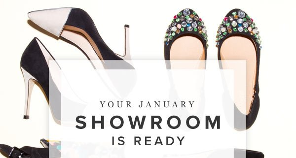 Your January Showroom Is Ready - Shop Now