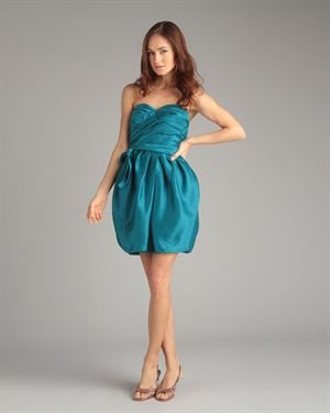 Marc by Marc Jacobs Silk Strapless Dress $29