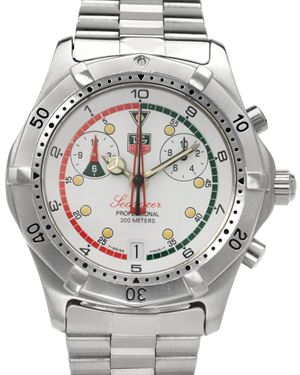TAG Heuer SeaRacer Stainless Steel Chronograph Watch $999