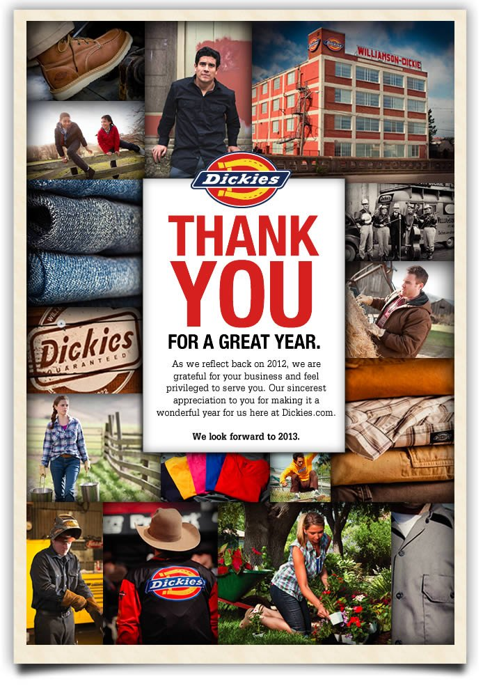 Happy New Year from Dickies