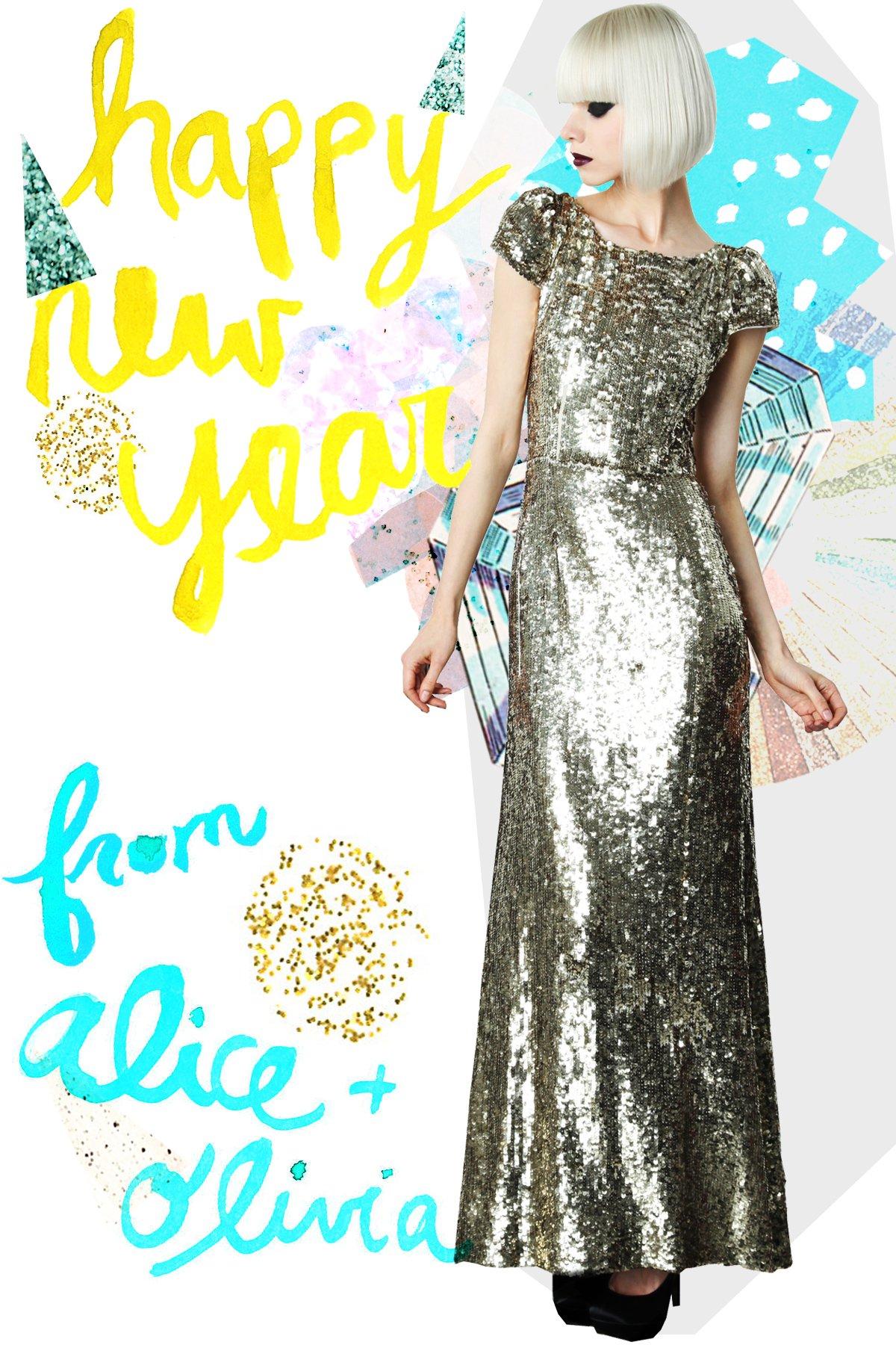 Happy New Year from Alice + Olivia