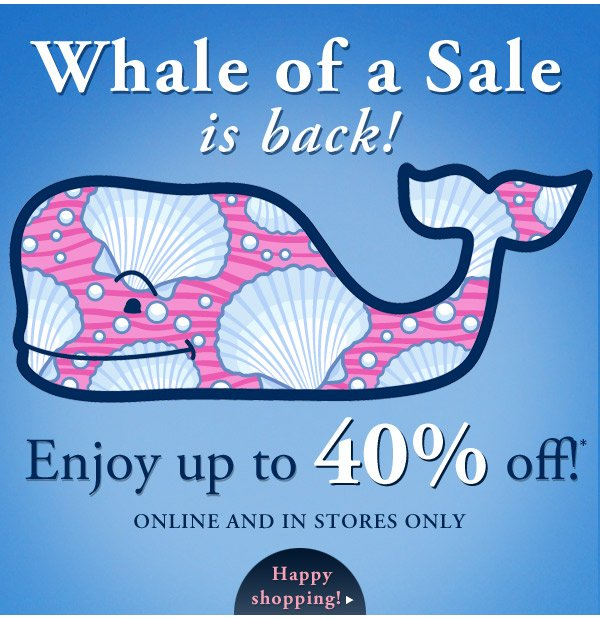 vineyard vines whale of a sale