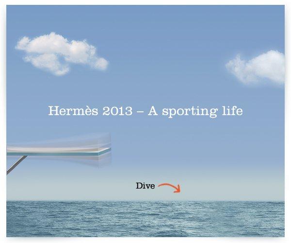 Hermès 2013 - A sporting life