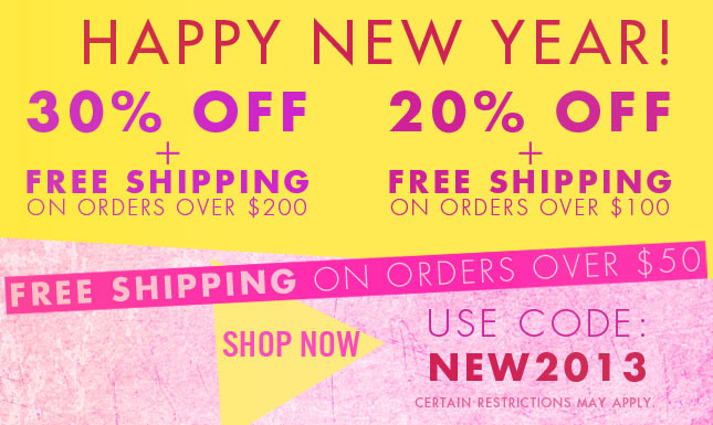 30% Off + Free Ship! Shop Miss KL Now!