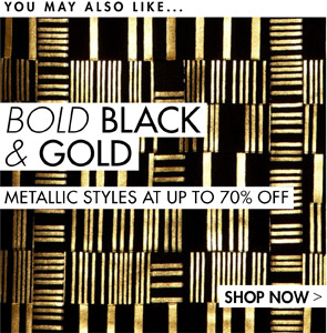 METALLIC STYLES UP TO 70% OFF